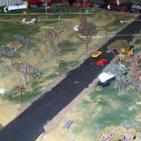 Layout of Trains and Town